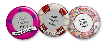 Logo and Photo Buttons