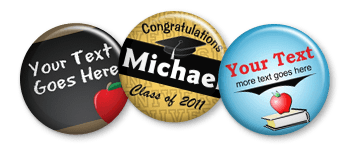 School, Graduation and Reunion Pins
