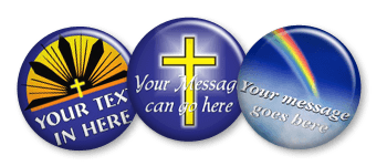 Religious Pins and Buttons