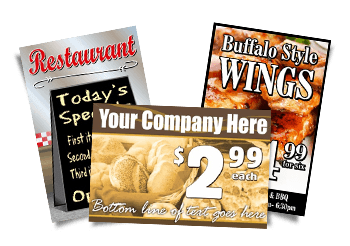 Food Service / Restaurant Signs