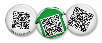 Social Media and QR Code Pins