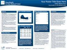 peace health research poster templates  makesigns scientific, Powerpoint