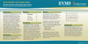 Eastern Virginia Medical School Template #