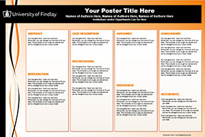 University of Findlay Template #