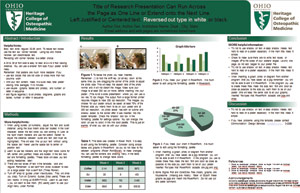 ohio university heritage college of osteopathic medicine research