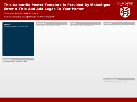 Hanover College Template #