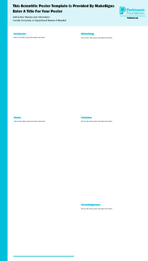 Parkinson's Foundation Template #