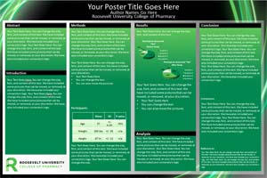 Roosevelt university research poster templates makesigns roosevelt university template toneelgroepblik Gallery