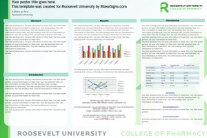 roosevelt university research poster templates makesigns