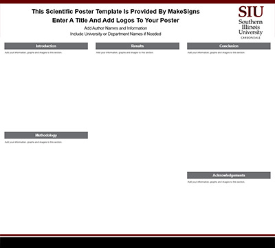 Southern Illinois University Carbondale Template #