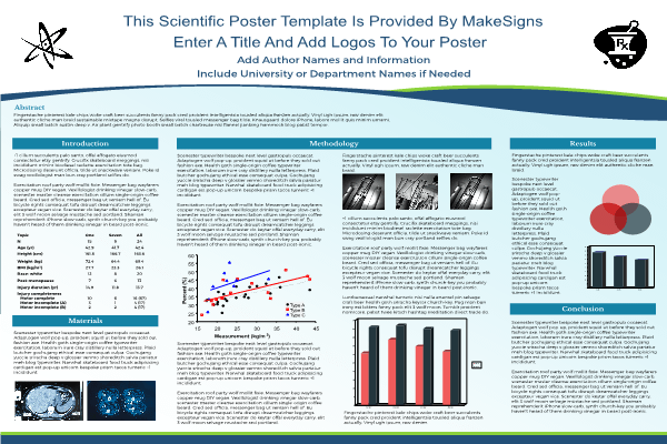Creative Research Poster Template
