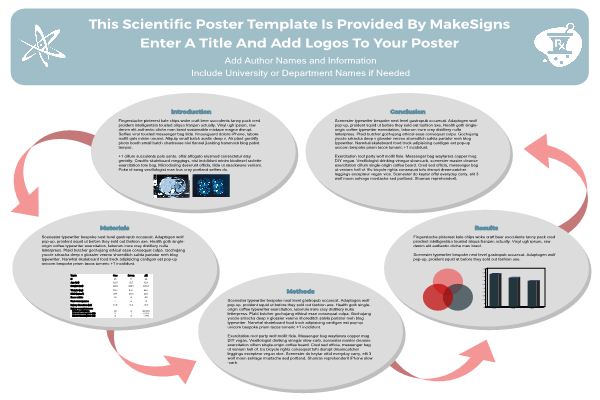 scientfic poster powerpoint templates makesigns