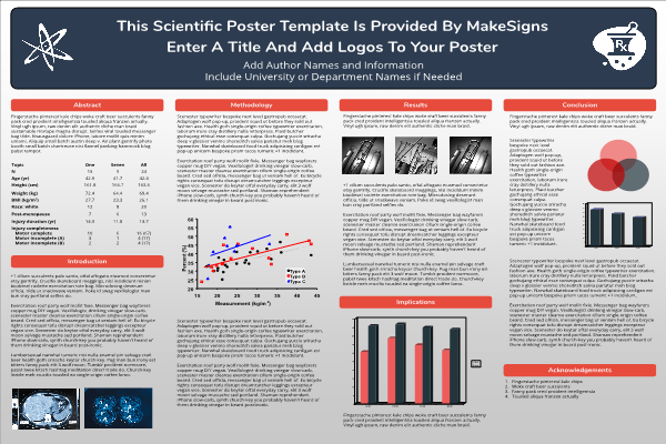 Academic Research Poster Examples