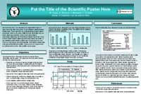 Scientific Poster Tepid Teal