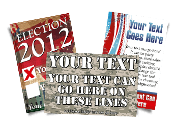 Patriotic and Election Designs