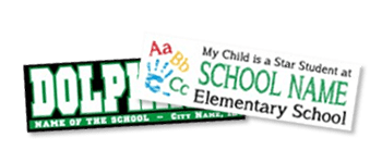School And Honor Student Stickers