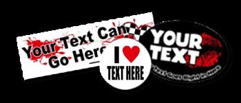I (Heart) Love Stickers