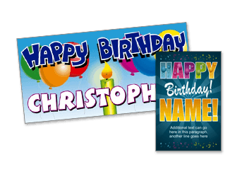 Birthday and Party Designs