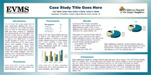 eastern virginia medical school research poster templates, Powerpoint templates