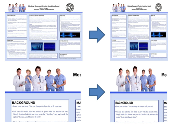 poster sizing and resizing | how do i setup my scientific poster, Powerpoint templates