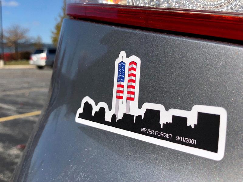 Die Cut Car Stickers Image 1