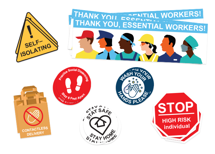 Essential Stickers and Labels