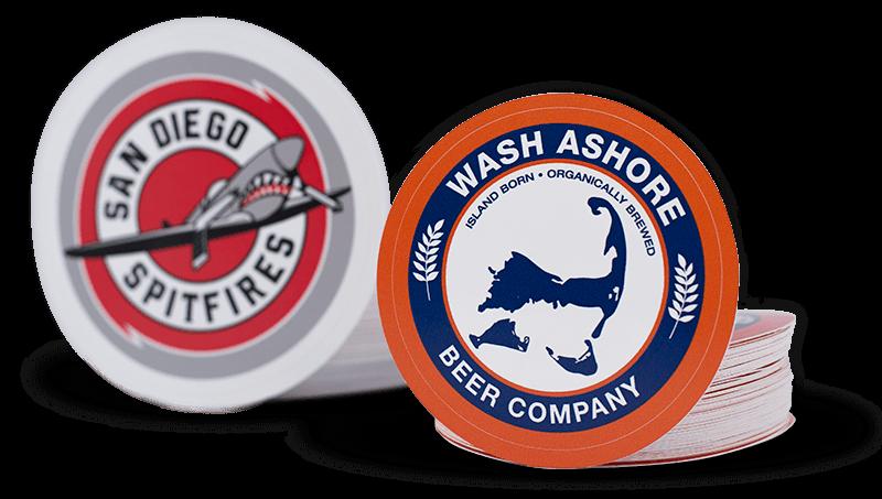 Custom Logo Stickers